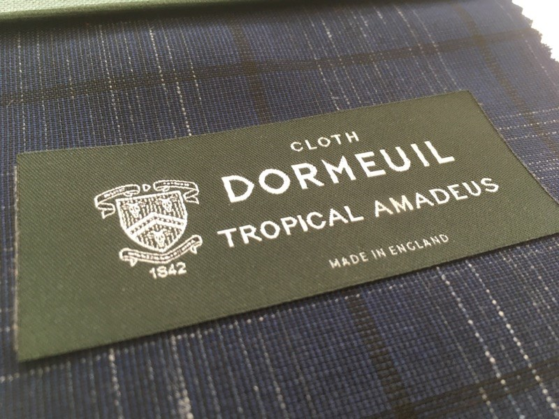 【5/8~】DORMEUIL TROPICAL AMADEUS FAIR